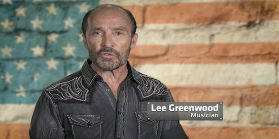 Lee Greenwood with Bob Body