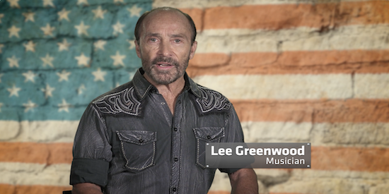 Lee Greenwood with Dave Riley